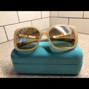 Tiffany & Co. Accessories - Price Dropped Tiffany & Co Beige 🕶 for Woman